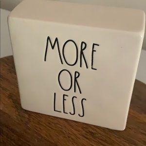 Rae Dunn Accents - Rae Dunn Less is More - More or Less Square